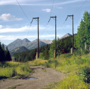 Mountain Power Line