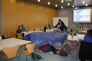 Simulated sea level rise during the World Climate exercise