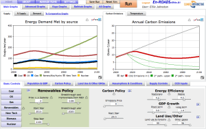Try Our New Climate Simulation Tools! En-ROADS and World Energy Now Available