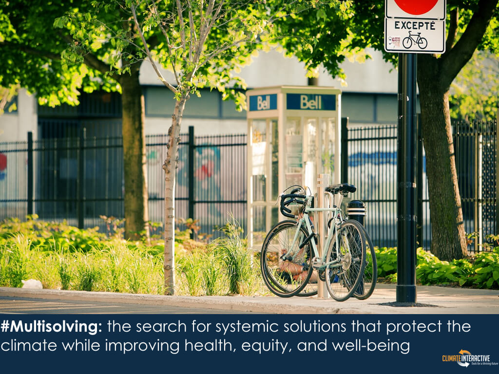 Multisolving: the search for systemic solutions that protect the climate while improving health, equity, and well-being
