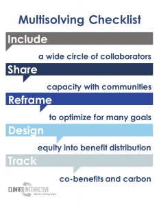 Working With Others to Achieve Climate Co-Benefits: 5 Things to Remember