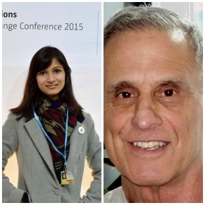 News from World Climate Ambassadors Bindu and Steve