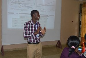 Joshua Amponsem from Ghana becomes a World Climate Ambassador